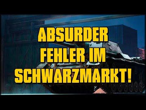 Absurder Fehler Im WoT Schwarzmarkt! :D - World Of Tanks - Deutsch