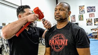 GREATEST BOXER EVER: Roy Jones Jr touches his toes for the 1st time (Hammer Chiro) YouTube Videos