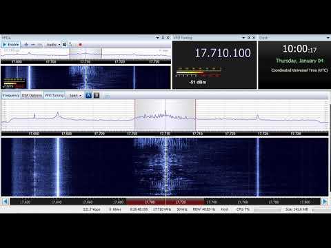 04 01 2018 Deutsche Welle in Swahili to EaAf 1000 on 17710 Meyerton