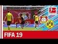 Bayer 04 Leverkusen vs. Borussia Dortmund - FIFA 19 Prediction with EA Sports