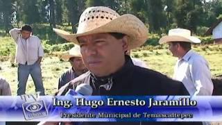 Construcción de aula en La Orejeta: Temascaltepec