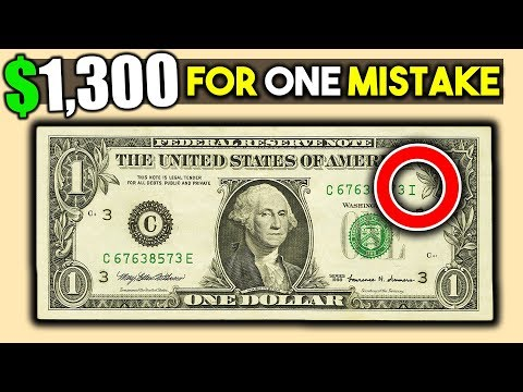 WHAT DOLLAR BILLS SHOULD YOU KEEP? RARE SERIAL NUMBERS ON PAPER MONEY!!