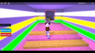 Escaping from the candy store (ROBLOX)