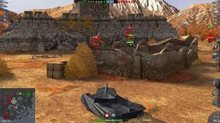 World of Tanks Blitz Game Play (T6 Dracula(Nightmare)) v4.1.0