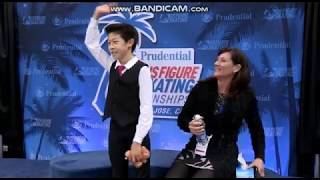 Nathan Chen 2012 Junior US Nationals FS