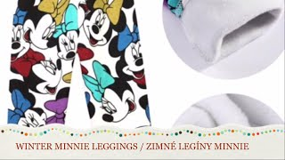 Aliexpress Winter Minnie leggings unboxing and review