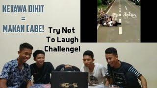 (NYIKSA BANGET)KETAWA DIKIT = MAKAN CABE TORAJA!! -Try Not To Laugh Challenge Indonesia!