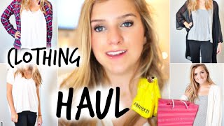 Back to School Clothing Try-On Haul!