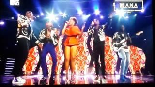 Alikiba, Sauti Sol and Yemi Alade live perfomance MAMA 2106