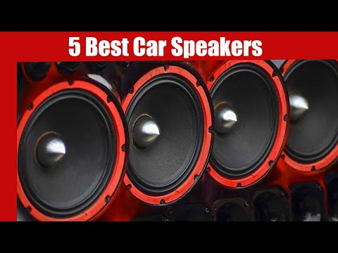 Best Car Speaker: 5 Best Car Speakers in 2020 | Best Speaker For Car (Buying Guide) #reviewshow