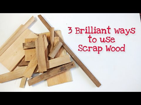 3 Brilliant Crafts from Wood Scrap | Scrap Wood Ideas | DIY Wood Crafts | Small Wood Craft Projects