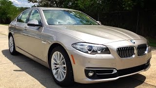 2015 BMW 528i Luxury Line Full Review, Start Up, Exhaust