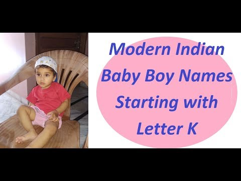 Modern Indian Baby Boy Names Starting with Letter K