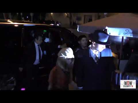 kourtney kardashian arriving to delilah nightclub in west hollywood mp4 HD