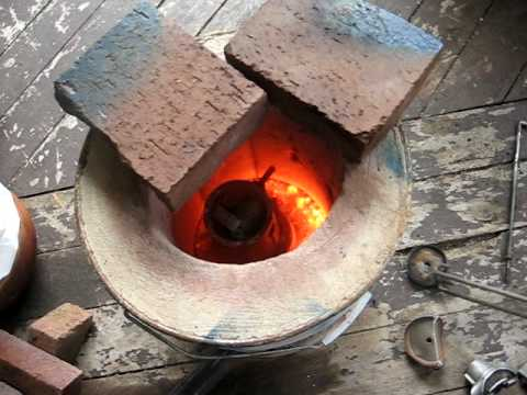 My home made furnace, diy aluminium foundry pt2