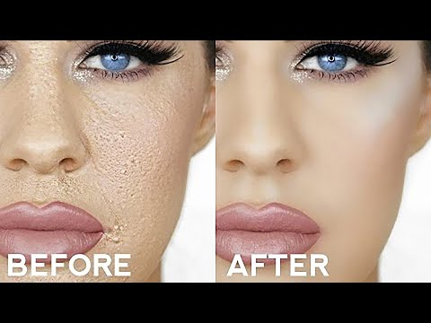 Thumbnail: HOW TO STOP CAKEY FOUNDATION!!! PERFECT SMOOTH FOUNDATION THAT LASTS ALL DAY!