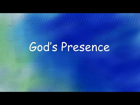 God's Presence and Rest