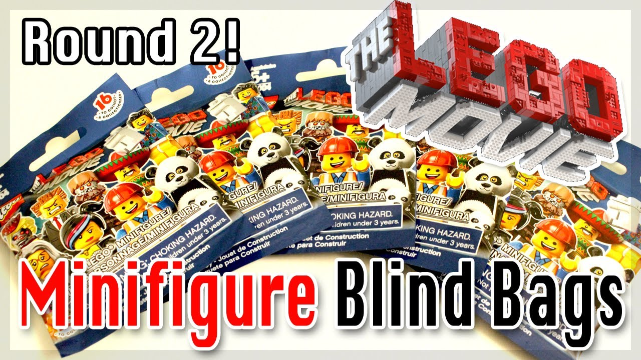 Lego Movie Minifigure Surprise Blind Bags Round 2