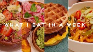 WHAT I EAT IN A WEEK VEGAN | Quarantine Edition #004