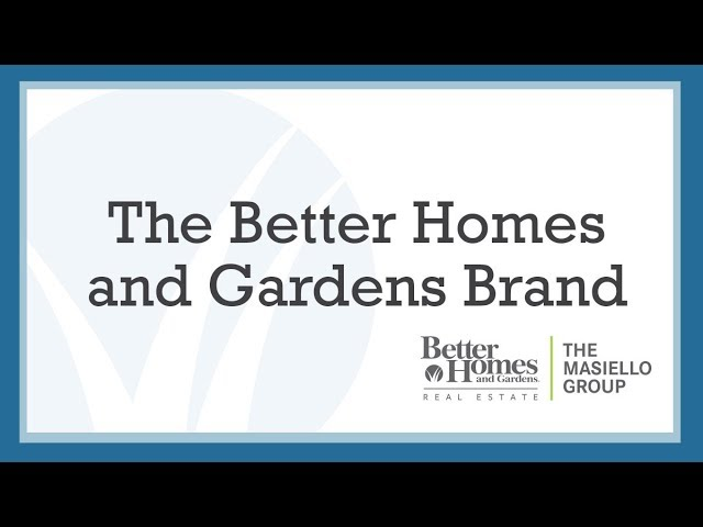 The Better Homes and Gardens Brand