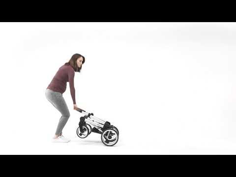 Mutsy Промо пакет Шаси Mutsy Nio Dark Grey+ Кош за новородено и Седалка и сенник Mutsy Nio Inspire Light Shade #ARoFp58zFC0