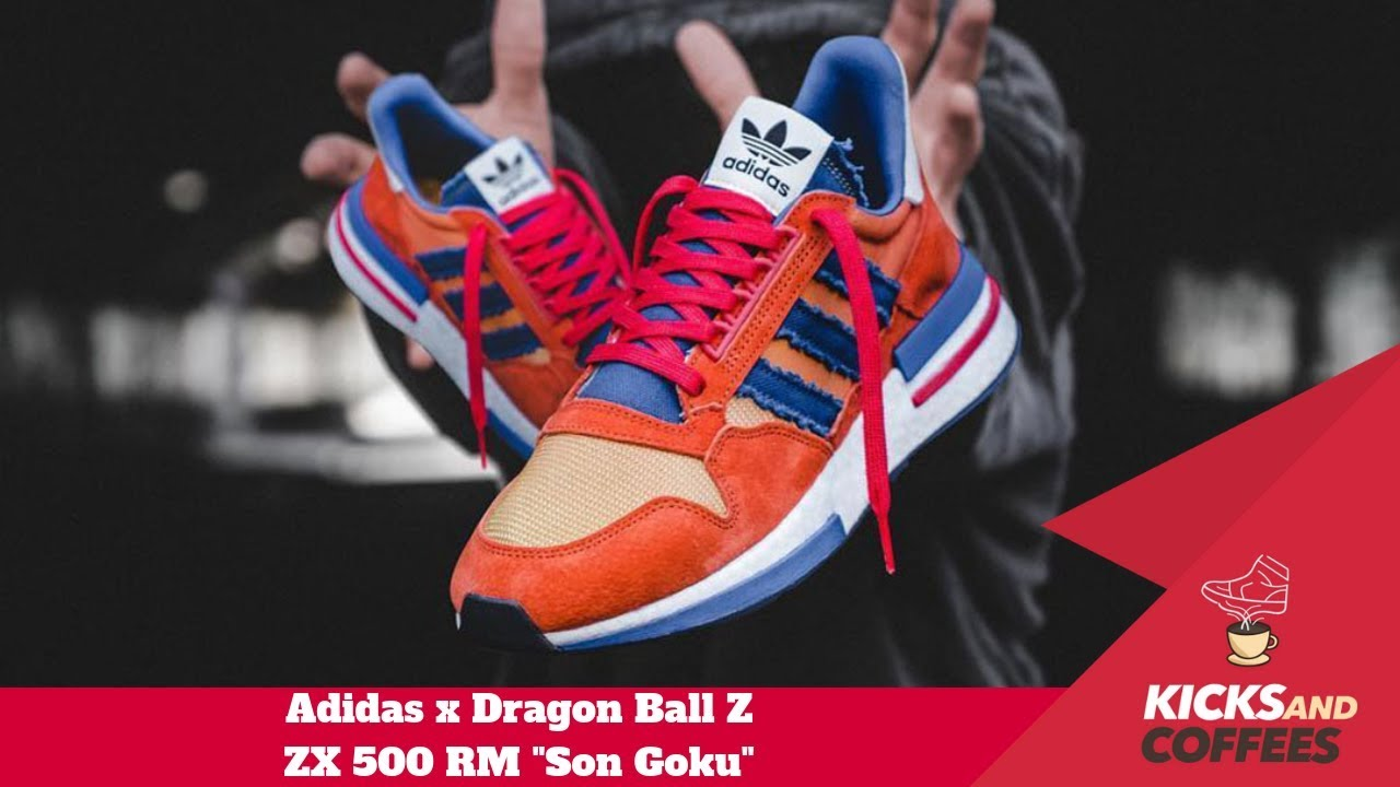sale retailer 39575 a090d Unboxing, Review e Onfeet - Adidas X Dragon Ball Z ZX 500 RM