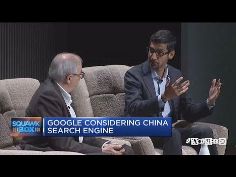 Google considering China search engine