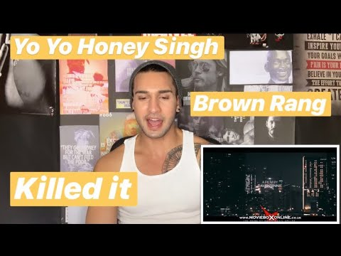 Yo Yo Honey Singh - Brown Rang | Reaction