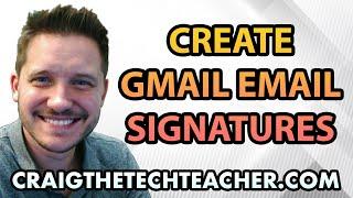 So Erstellen Sie Ein Google Gmail E-Mail-Signatur