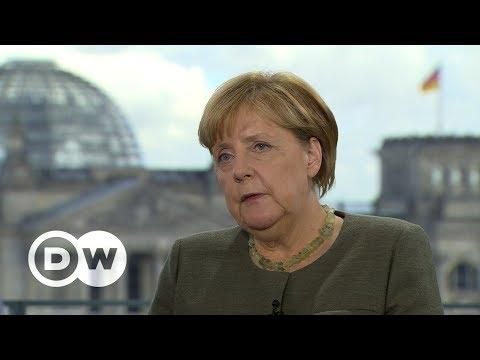 #DeutschlandWaehlt: Das Interview mit Bundeskanzlerin Angela Merkel, CDU | DW Deutsch