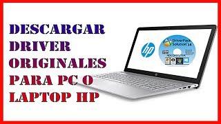 ✅ Como DESCARGAR DRIVER ORIGINALES para mi PC o LAPTOP HP【Driver wifi HP】