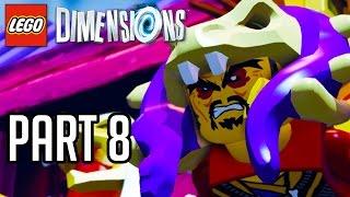 LEGO Dimensions Walkthrough Part 8 - NINJAGO TOURNAMENT!! (Gameplay PS4/XB1/Wii U 1080p HD)