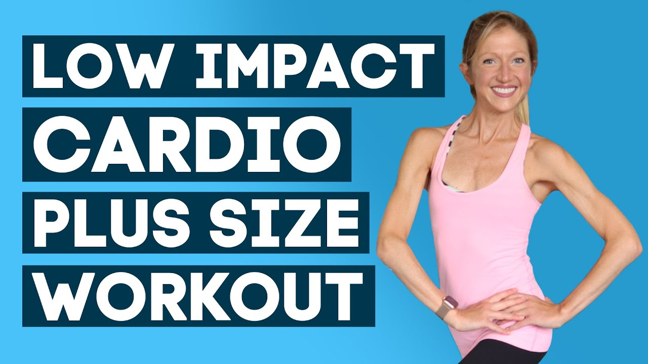 Plus Size Overweight Beginners Low Impact Cardio And Strength Workout 100kg Above Youtube