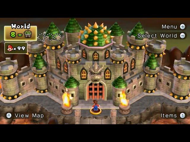 New Super Mario Bros 2 Wourld 8 Tower