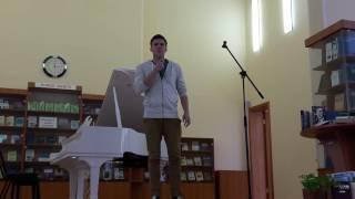 «Пламя» в исполнении Юрия Спасёнкова.