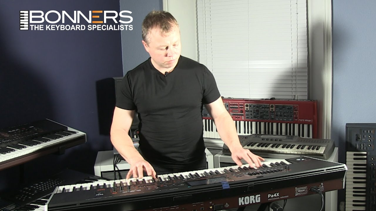 Korg PA4x Oriental Keyboard UK English Demonstration
