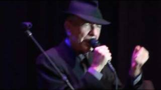 Helsinki , Whither thou Goest,  Leonard Cohen