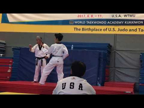 Kumgang from the Kukkiwon International Master Course & Examiner