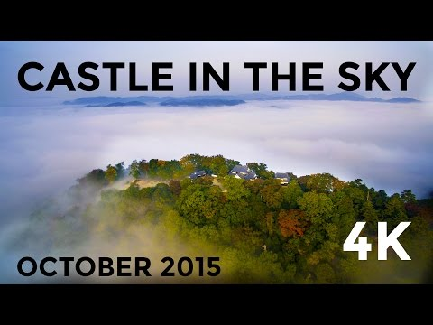 Castle in the Sky - Bitchu Matsuyama Castle in 4K