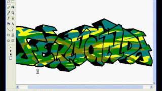 FERNANDA GRAFFITI MSPAINT