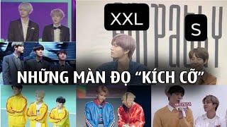 Những màn chênh lệch vóc dáng vừa hài hước, vừa đáng yêu của các Idol Kpop