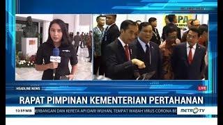 Jokowi Ingatkan Prabowo Soal Anggaran Kemenhan yang Besar