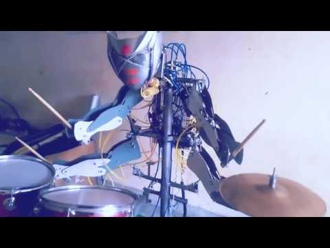 India's first robotic drummer developed by AKTU students in BBD lucknow college