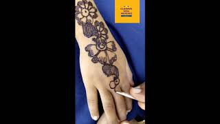 3 year old baby girl mehendi design(new 2020 design)