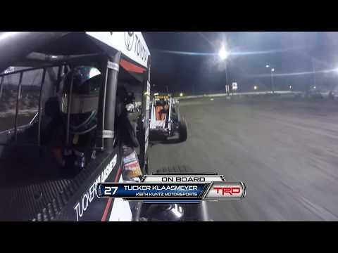 7/7/18 Tucker Klaasmeyer On-Board from Fairbury American Legion Speedway