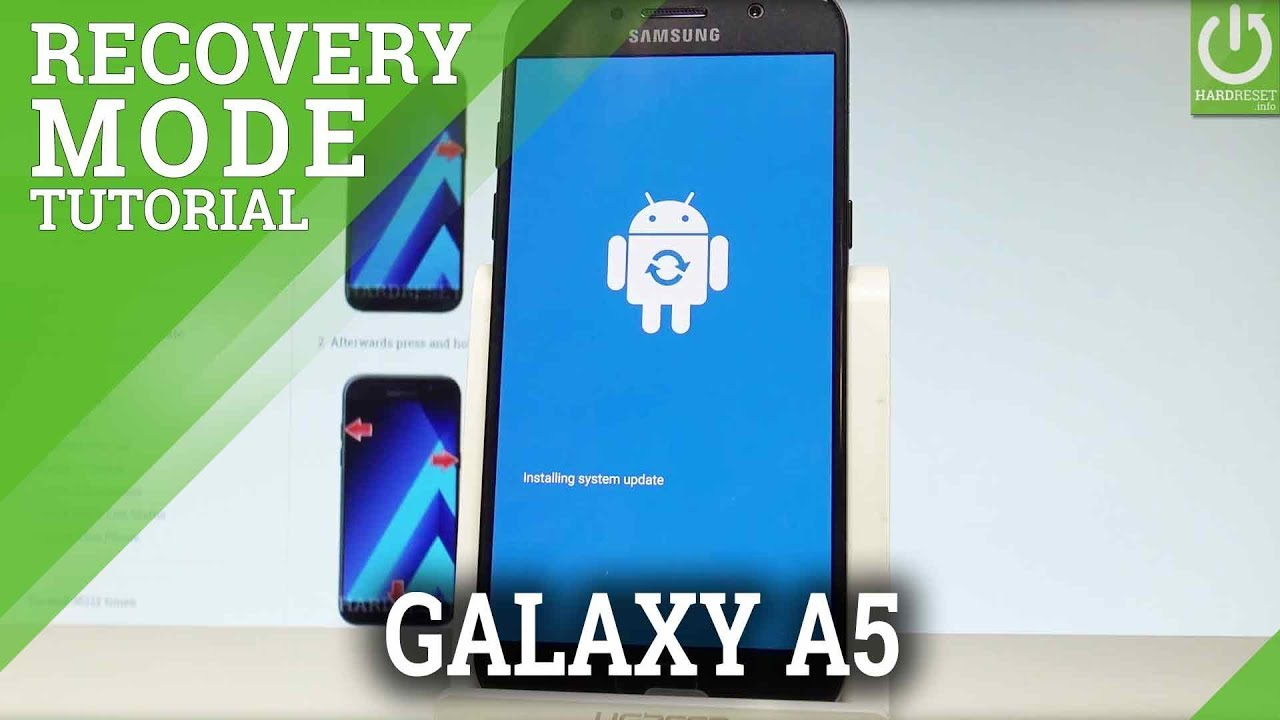 Recovery Mode SAMSUNG A520F Galaxy A5 (2017) - HardReset info
