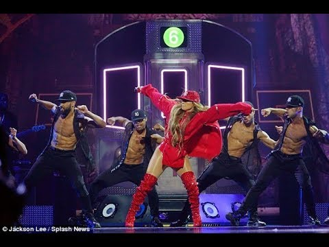 Jennifer Lopez, flashes her bottom as she returns to New York performance at TIDAL X  concert