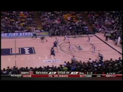 """Winning Team, Losing Team"" Chant Against Nevada - Utah State Basketball"