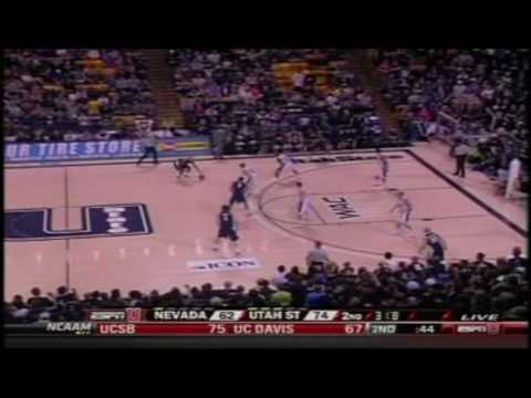 """Winning Team, Losing Team"" Chant Against Nevada - Utah State Basketball"