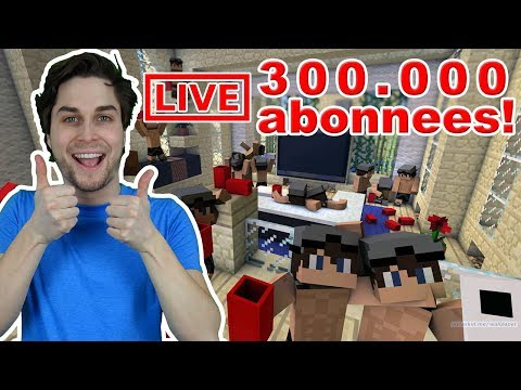 NU LIVE! 300.000 ABONNEES STREAM!